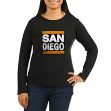 sandiego orange Long Sleeve T-Shirt