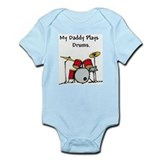my daddy plays drums Body Suit