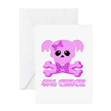 NCIS Abby 4N6 Chick Greeting Card