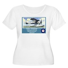 Fairey Swordfish Plus Size T-Shirt