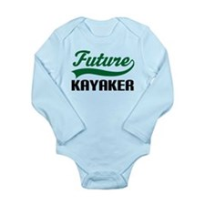Future Kayaker Long Sleeve Infant Bodysuit
