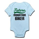 Future Mountain Biker Infant Bodysuit