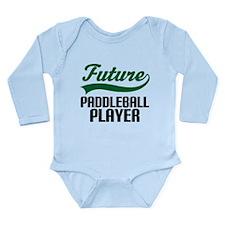 Future Paddleball Player Long Sleeve Infant Bodysu