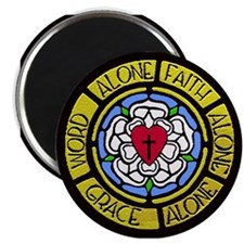 Grace Faith Word Magnet