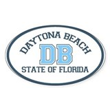 Daytona Beach - Varsity Design. Decal