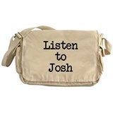 Listen to Josh Messenger Bag