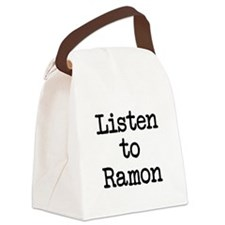 Listen to Ramon Canvas Lunch Bag