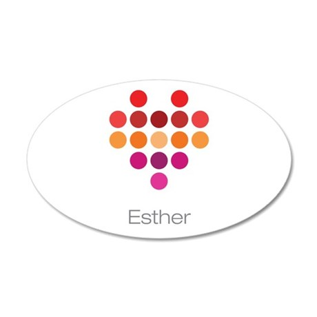 I Heart Esther Wall Decal