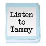 Listen to Tammy baby blanket
