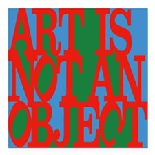 Art Is Not an Object Magnet