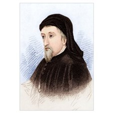 Geoffrey Chaucer, English author