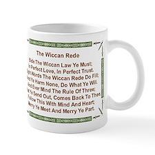 Balanced Wiccan Rede Small Mug