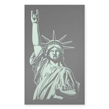 Statue of Metal Decal