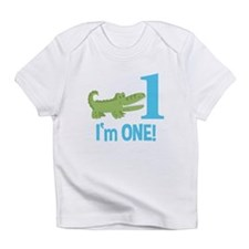 Im One Alligator Birthday Design Infant T-Shirt