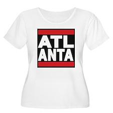 atlanta red Plus Size T-Shirt