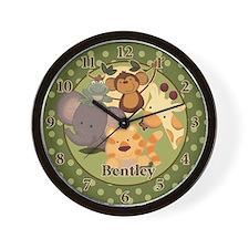 Jungle Safari Clock Bentley Wall Clock