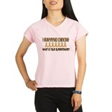 Peach Superpower Peformance Dry T-Shirt