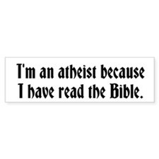 Read the Bible Bumper Sticker