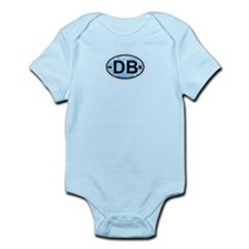 Daytona Beach - Oval Design. Infant Bodysuit