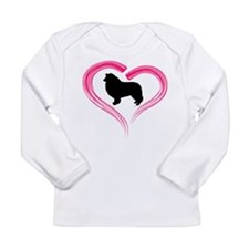 Heart My Collie Long Sleeve T-Shirt