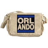 orlando blue Messenger Bag
