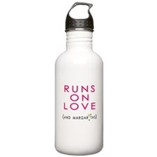 Runs On Love (and margaritas) Water Bottle