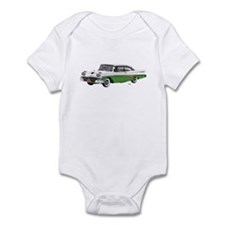 1958 Ford Fairlane 500 White & Light Green Infant