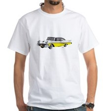1958 Ford Fairlane 500 White & Yellow Shirt