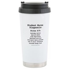Student Nurse Diagnosis Ceramic Travel Mug