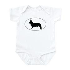 CW Corgi Silhouette Infant Bodysuit