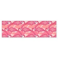 Pink Flamingo Bumper Sticker