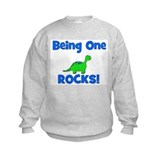 Being One Rocks! Dinosaur Sweatshirt
