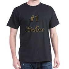 Number One Sister T-Shirt
