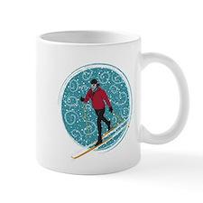 Nordic Ski Girl Mug