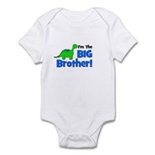 I'm The Big Brother! Dinosaur Infant Bodysuit