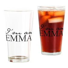 Im an Emma Drinking Glass