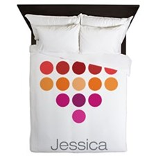I Heart Jessica Queen Duvet
