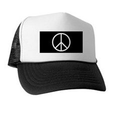 Unique Peace symbol Trucker Hat