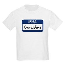 Hello: Geraldine Kids T-Shirt