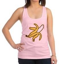 Big Banana Racerback Tank Top