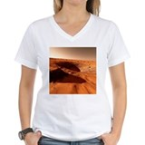 Shirt - Martian crater, artwork