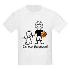 Big Cousin - Stick Characters T-Shirt