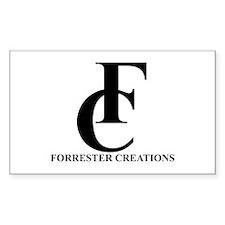 Forrester Creations Logo 01.png Sticker