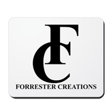 Forrester Creations Logo 01.png Mousepad
