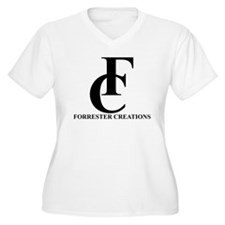 Forrester Creations Logo 01.png Plus Size T-Shirt