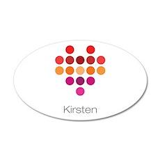 I Heart Kirsten Wall Decal