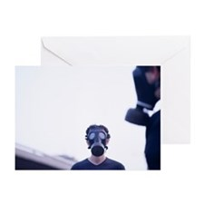 Greeting Cards (Pk of 20) - Gas masks