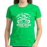 75 Year Old Rock Star Tee