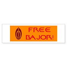 Free Bajor Bumper Sticker Bumper Sticker