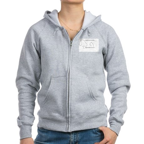 Adoption is the best option Women's Zip Hoodie